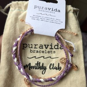 Special Edition Purple Pura Vida Bracelets